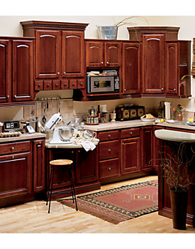 Albany Maple Cabinets